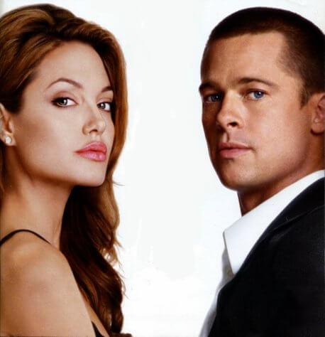 Angelina Jolie Brad Pitt EW June 2005