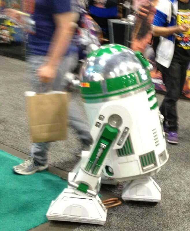 Comic Con Droid 2012