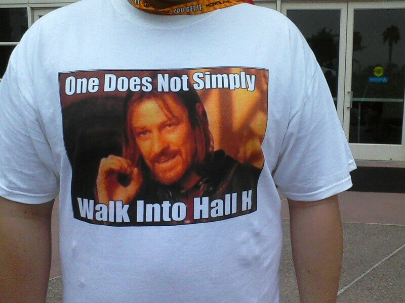 Comic Con Hall H