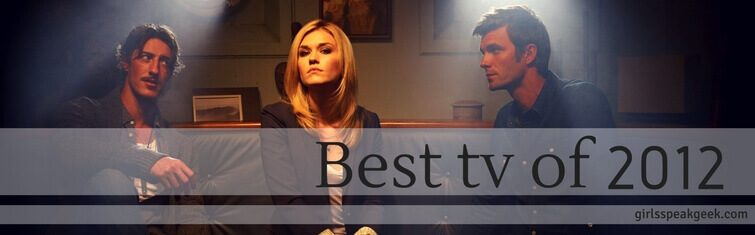 best tv of 2012