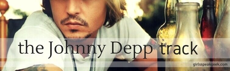 the Johnny Depp track